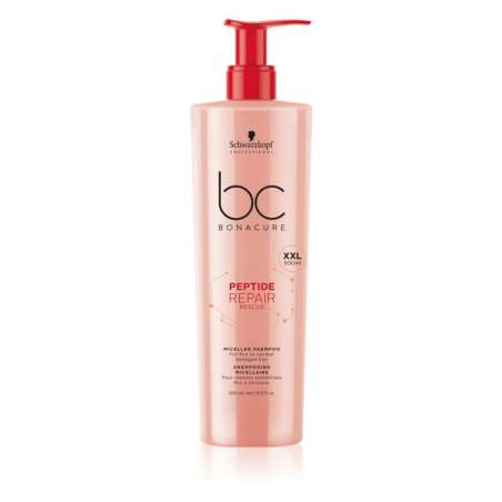 Shampooing Micellaire 500ml - BC PEPTIDE REPAIR RESCUE - Bonacure SCHWARZKOPF
