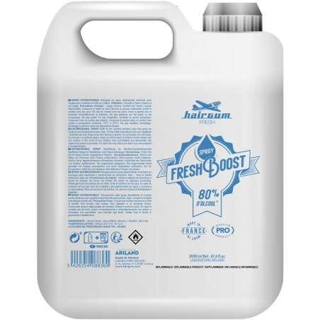Fresh Boost 2 litres HAIRGUM - Spray Hydro-alcoolique, sans rinçage