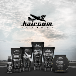 SHAMPOOING CHEVEUX BARBE ET CORPS - HAIRGUM FOR MEN