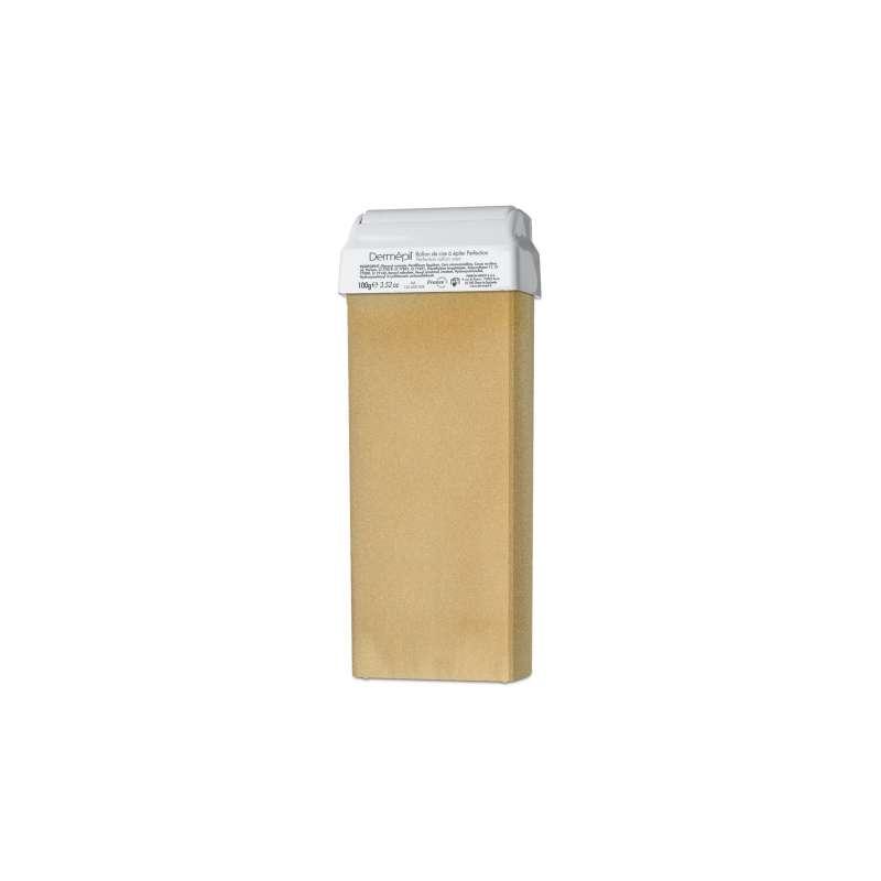 Cartouche cire jaune 100gr - DERMEPIL paillettes