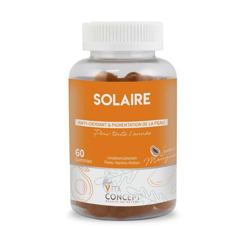 GUMMIES SOLAIRE VITA CONCEPT SAVEUR MANGUE X60