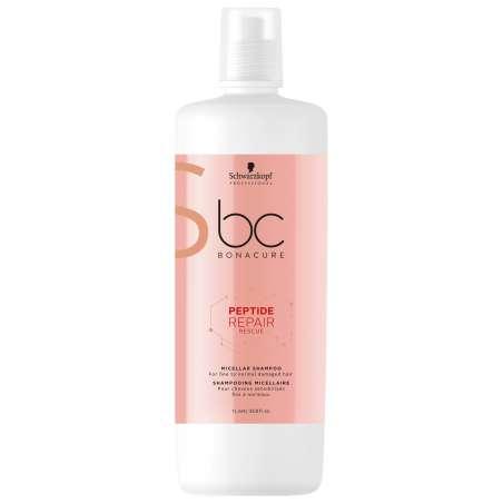 Shampooing Micellaire 1000ml - BC PEPTIDE REPAIR RESCUE - Bonacure SCHWARZKOPF