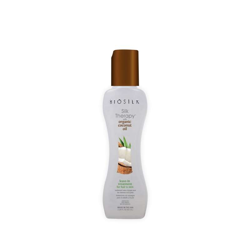 BIOSILK Coconut Oil Silk Therapy Leav-in-Treatment