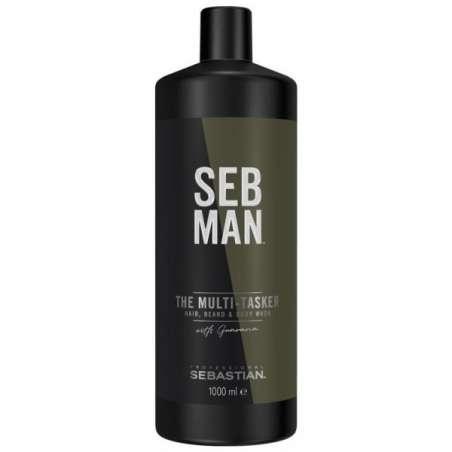 THE MULTI-TASKER SEB MAN - Gel Nettoyant 3en1 - 1000ml