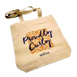 "TOTEBAG MIZANI ""Proudly Curly"""