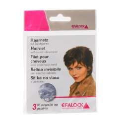 3 Filets invisibles pour cheveux - Gris - EFALOCK