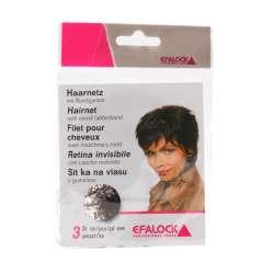 3 Filets invisibles pour cheveux - Brun Clair - EFALOCK