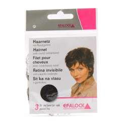 3 Filets invisibles pour cheveux - Noir - EFALOCK
