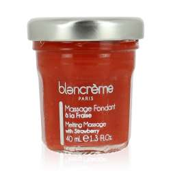 COFFRET JEU DE MASSAGE FRAISE - Blancrème