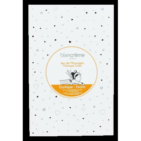 COFFRET JEU DE MASSAGE EXOTIQUE - Blancrème