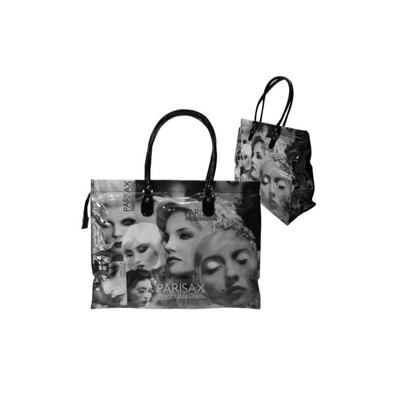 Sac Vinyl Classique Fashion - Visage Noir/Blanc  PARISAX