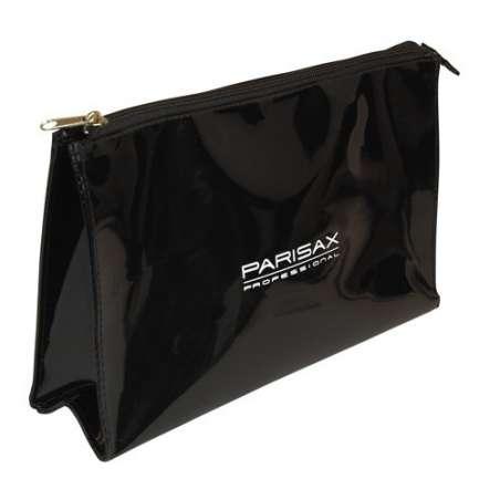 TROUSSE PVC VERNIS noire TRAPEZE PARISAX