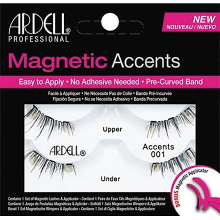 Faux Cils Magnetic Double DEMI ACCENTS 001 - ARDELL