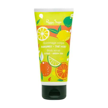 Gommage Corps Agrumes Thé Vert 100ml - PEGGY SAGE