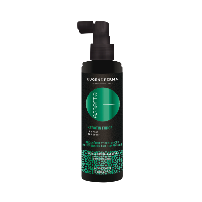 Spray KERATIN FORCE ESSENTIEL 200ML - Anti-Chute - EUGENE PERMA Professionnel
