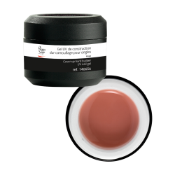 GEL UV CONSTRUCTION CAMOUFLAGE DUR ROSE pour ongles 15G - Peggy Sage