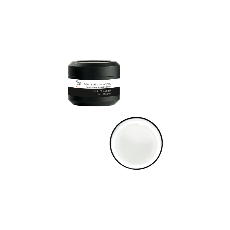 GEL UV & LED pour ongles French Manucure EXTRA-BLANC 5G - Peggy Sage