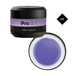 PRO 3.1 Gel de Construction Transparent 15G - PEGGY SAGE