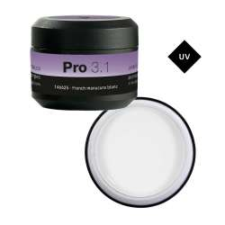 PRO 3.1 GEL FRENCH MANUCURE BLANC 15G