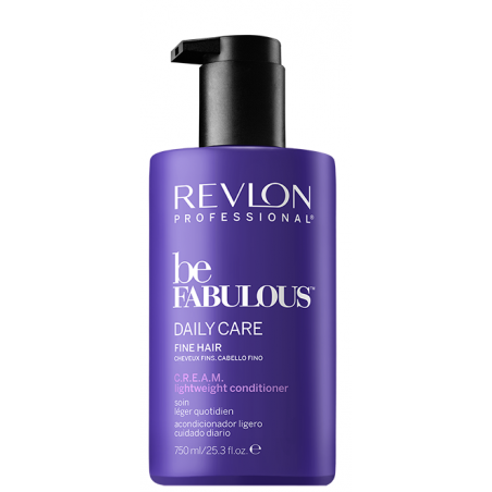 Conditionneur BE FABULOUS DAILY CARE 750ml - Cheveux Fins et Normaux