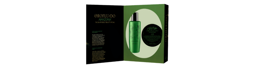 AMAZONIA Orofluido REVLON - Shamp 200ml + Masque 250ml