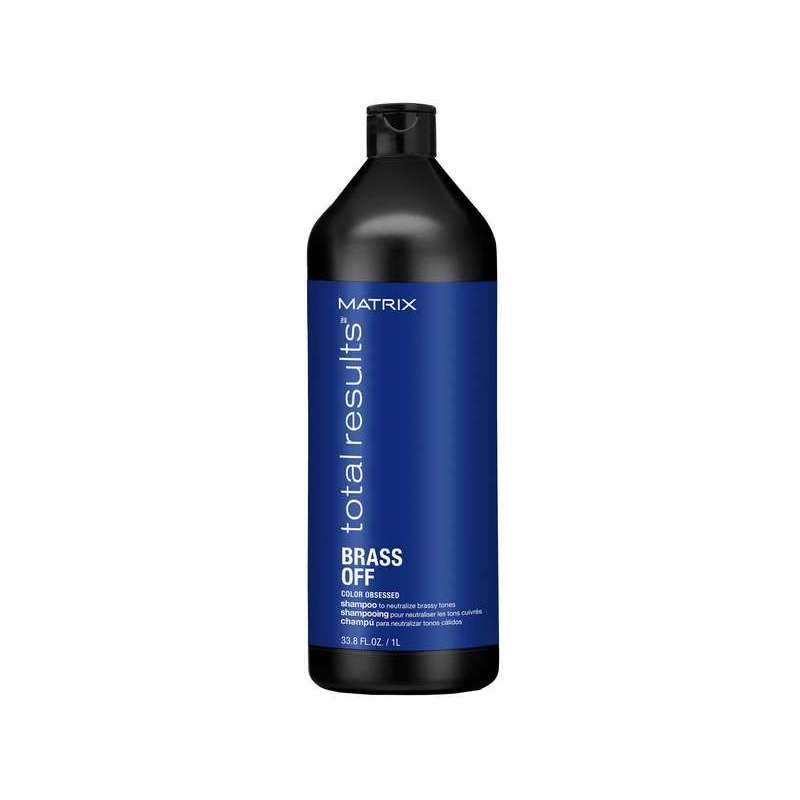 BRASS OFF Shampooing 1000ml - Total Result MATRIX