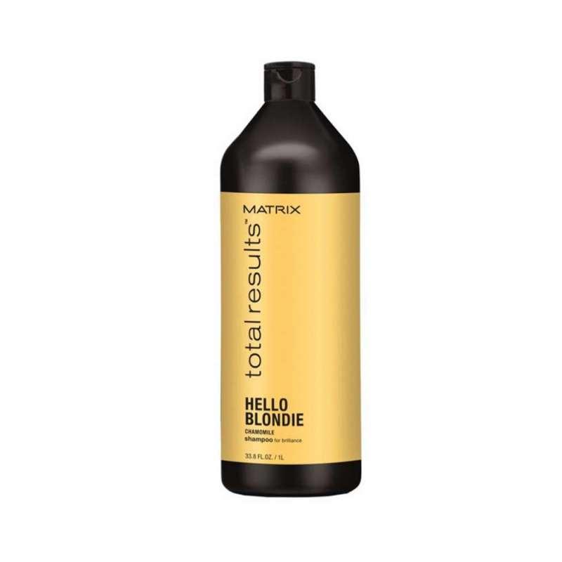 HELLO BLONDIE Shampooing 1000ml - Total Result MATRIX