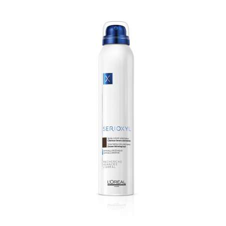 SERIOXYL Sprays Colorés Volumateurs Brun - 200ml