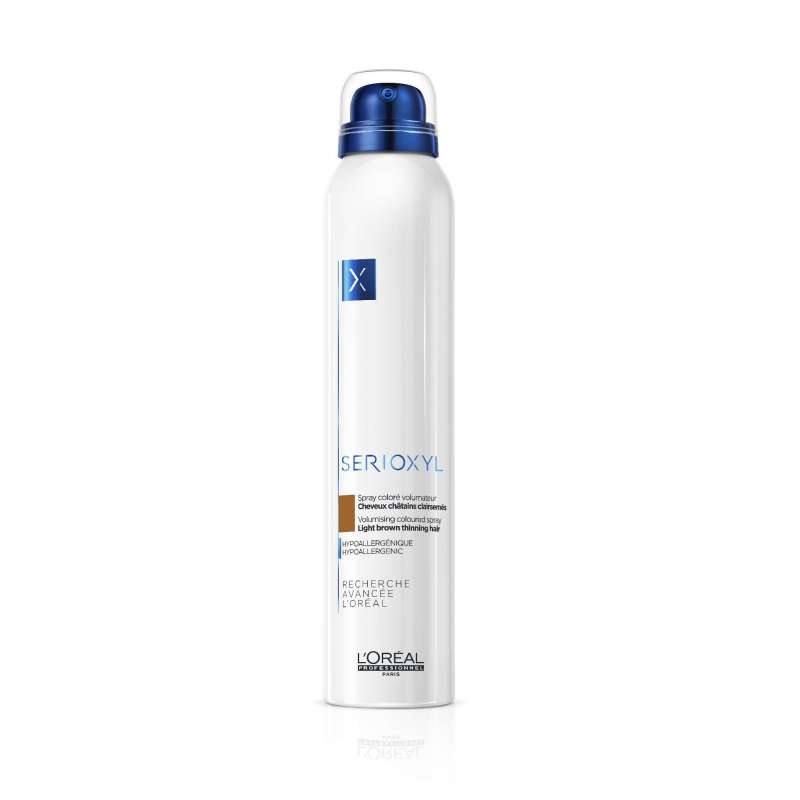SERIOXYL Sprays Colorés Volumateurs Châtain - 200ml