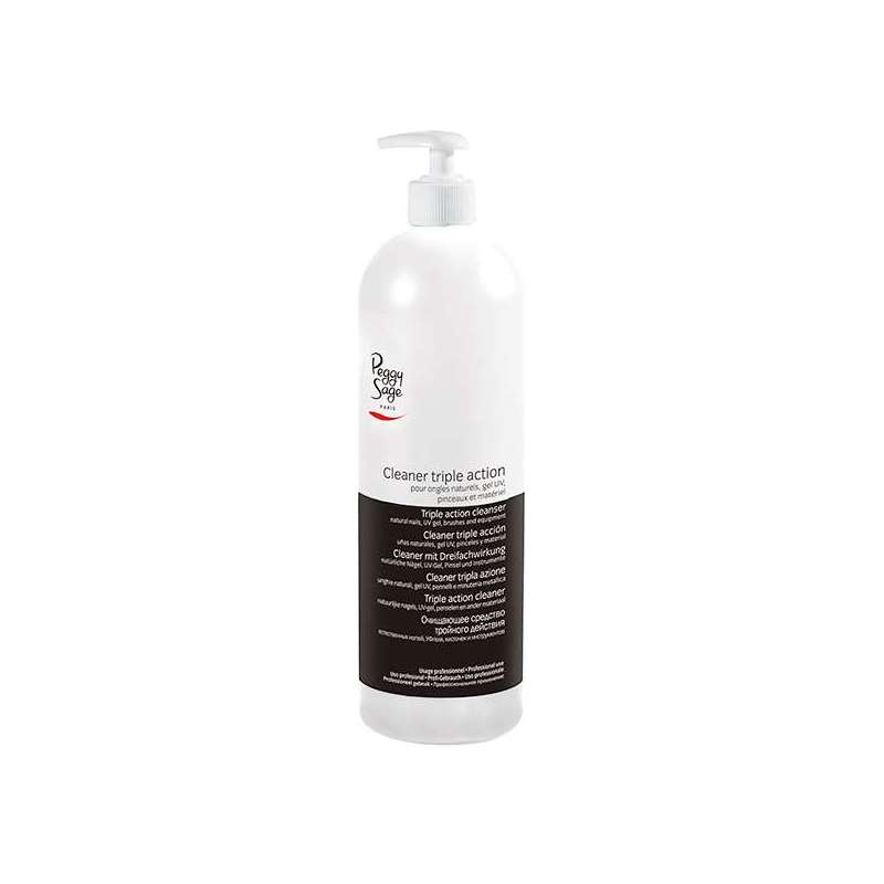 Cleaner Triple Action pour Ongles 1000ml - PEGGY SAGE
