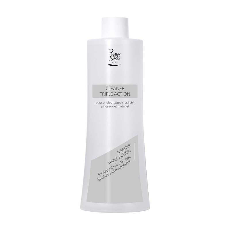 Cleaner Triple Action pour Ongles 485ml - PEGGY SAGE