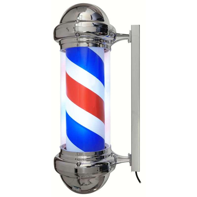 BARBER POLE - Enseigne Lumineuse Barbier Intérieur / Extérieur