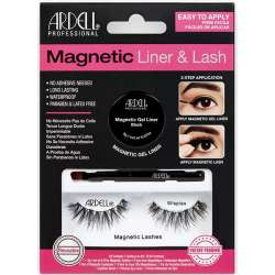 Gel Liner Noir & Faux Cils Magnetic Wispies Ardell 36850