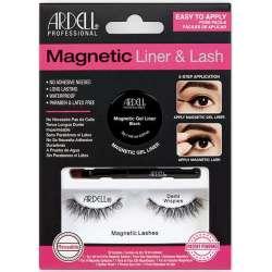 Gel Liner Noir & Faux Cils Magnetic Demi Wispies Ardell 36851
