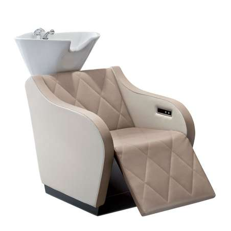 BAC A SHAMPOING 330 COMFORT MALETTI  ( lève-jambes électriques ).