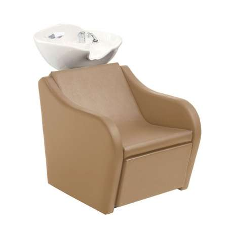 BAC A SHAMPOING SKYWASH SWING COMFORT FIXE MALETTI (repose-jambes électrique)