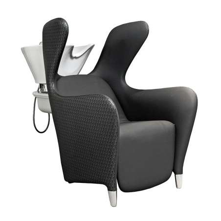 BAC A SHAMPOING BERGERE COMFORT  FIXE MALETTI ( lève-jambes électrique)