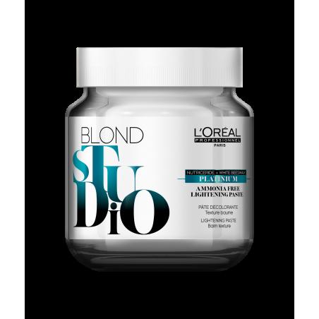 Pâte platinium sans ammoniaque Blond Studio - L'Oréal Professionnel