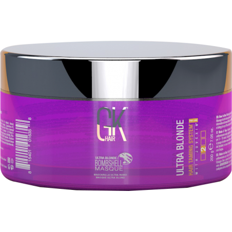 MASQUE BOMBSHELL ULTRA BLONDE 200ML - GK Hair