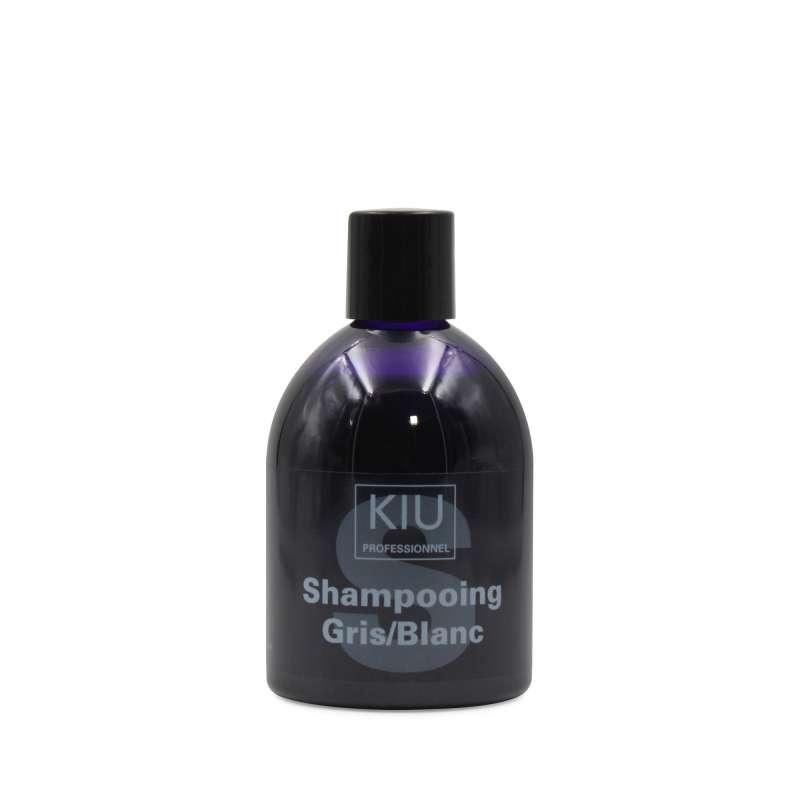 SHAMPOING GLOSS KIU 250ML - GRIS/BLANC