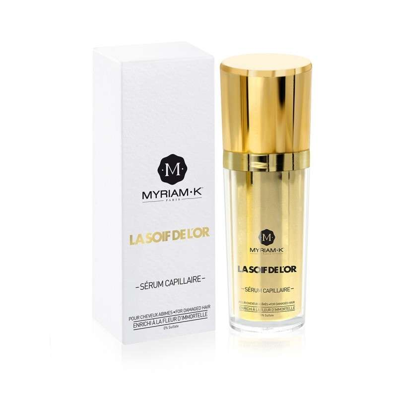 SOIF DE L'OR SERUM RECONSTRUCTEUR MYRIAM K 30ml