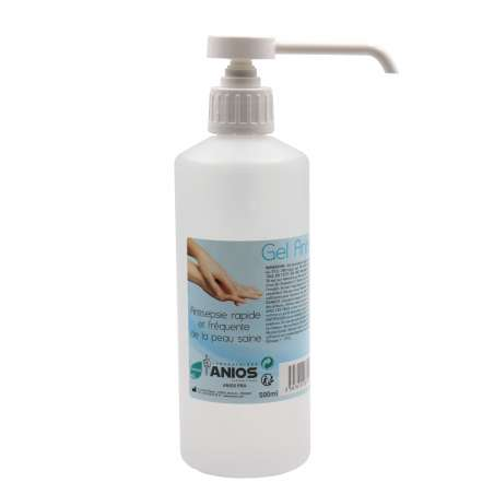 GEL HYDROALCOOLIQUE 500ML Airless ANIOS