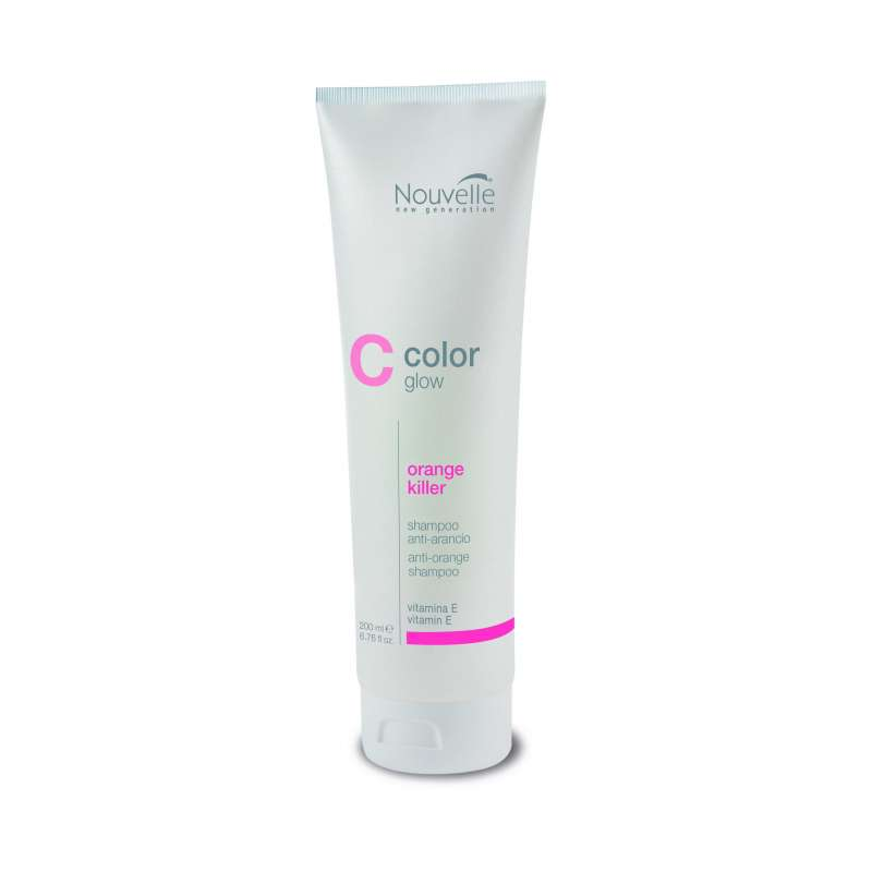 ColorGlow ORANGE KILLER - Shampoing 200ML - Nouvelle
