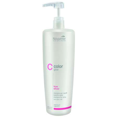 Color Glow TRUE SILVER - Shampoing 1000ML - Nouvelle