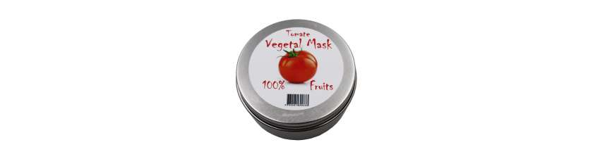 VEGETAL MASK - MASQUE PREPARATION TOMATE - 100GR
