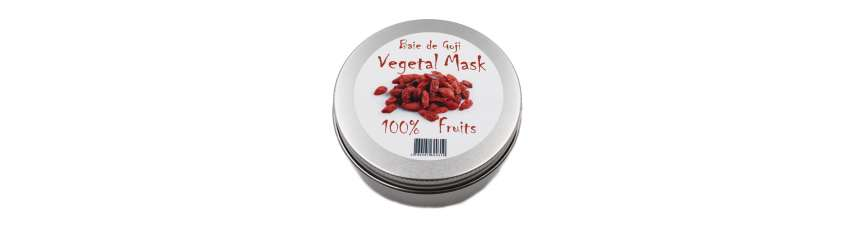 VEGETAL MASK - MASQUE PREPARATION GOJI - 100GR