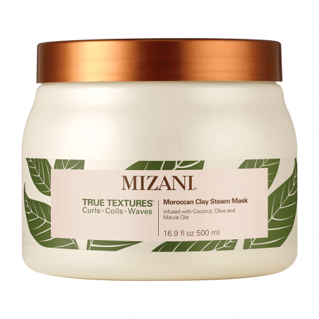 MOROCCAN CLAY STEAM MASK - TRUE TEXTURE - MIZANI