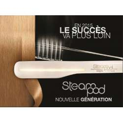 Steampod V2 Blanc Lisseur Vapeur L'oréal Professionnel