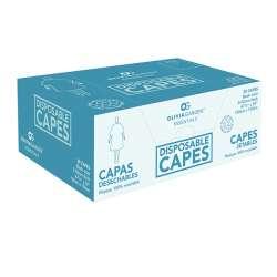 CAPES JETABLES NOIRES  OLIVIA GARDEN PE 120X150  - 20PZ