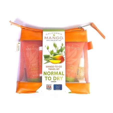 TROUSSE VOYAGE N°2 PEAU NORMALE - 5 produits - CALIFORNIA MANGO